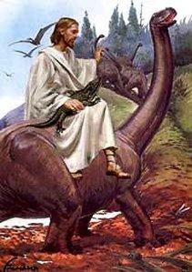 jesus and dinosaurs