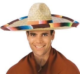 wearing sombrero