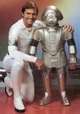 Daddy Daughter robot