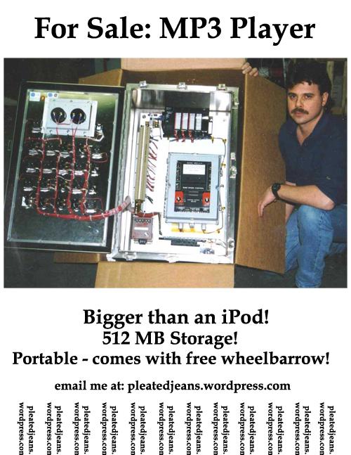 Giant iPod