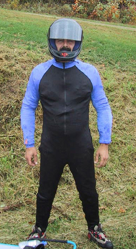 spandex speed suit