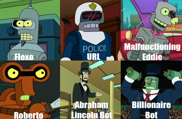 The 10 Best Supporting Robots on Futurama | Pleated Jeans